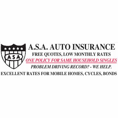 ASA Auto-Cycle Insurance