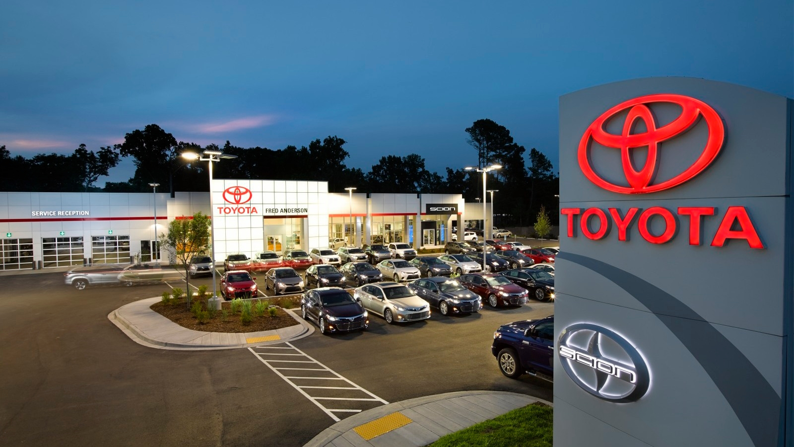 Fred Anderson Toyota Of Columbia In West Columbia Sc