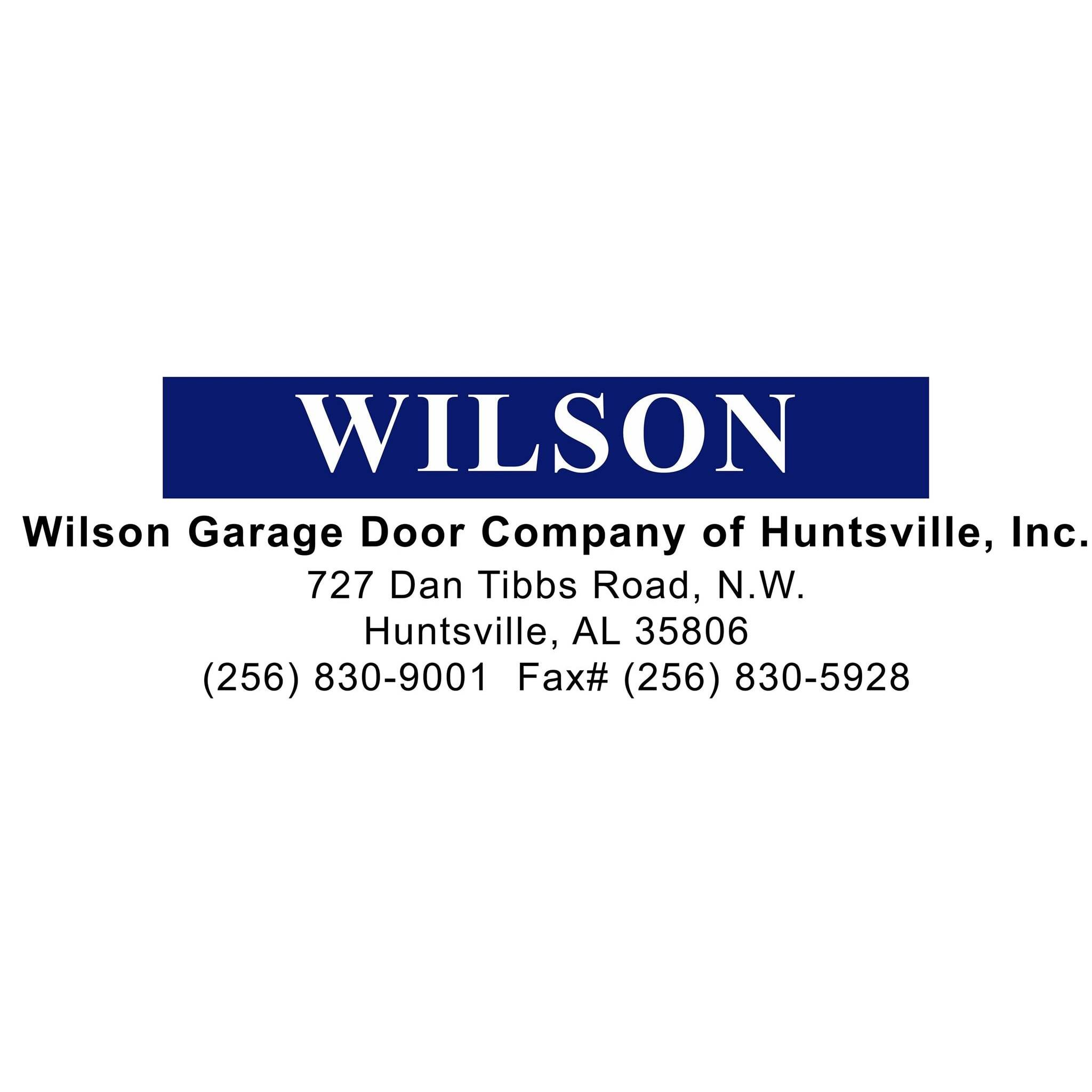 Wilson Garage Door Company of Huntsville