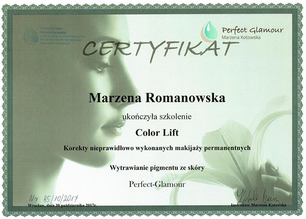 """Look"" Marzena Romanowska"