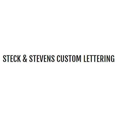 Steck & Stevens Custom Lettering