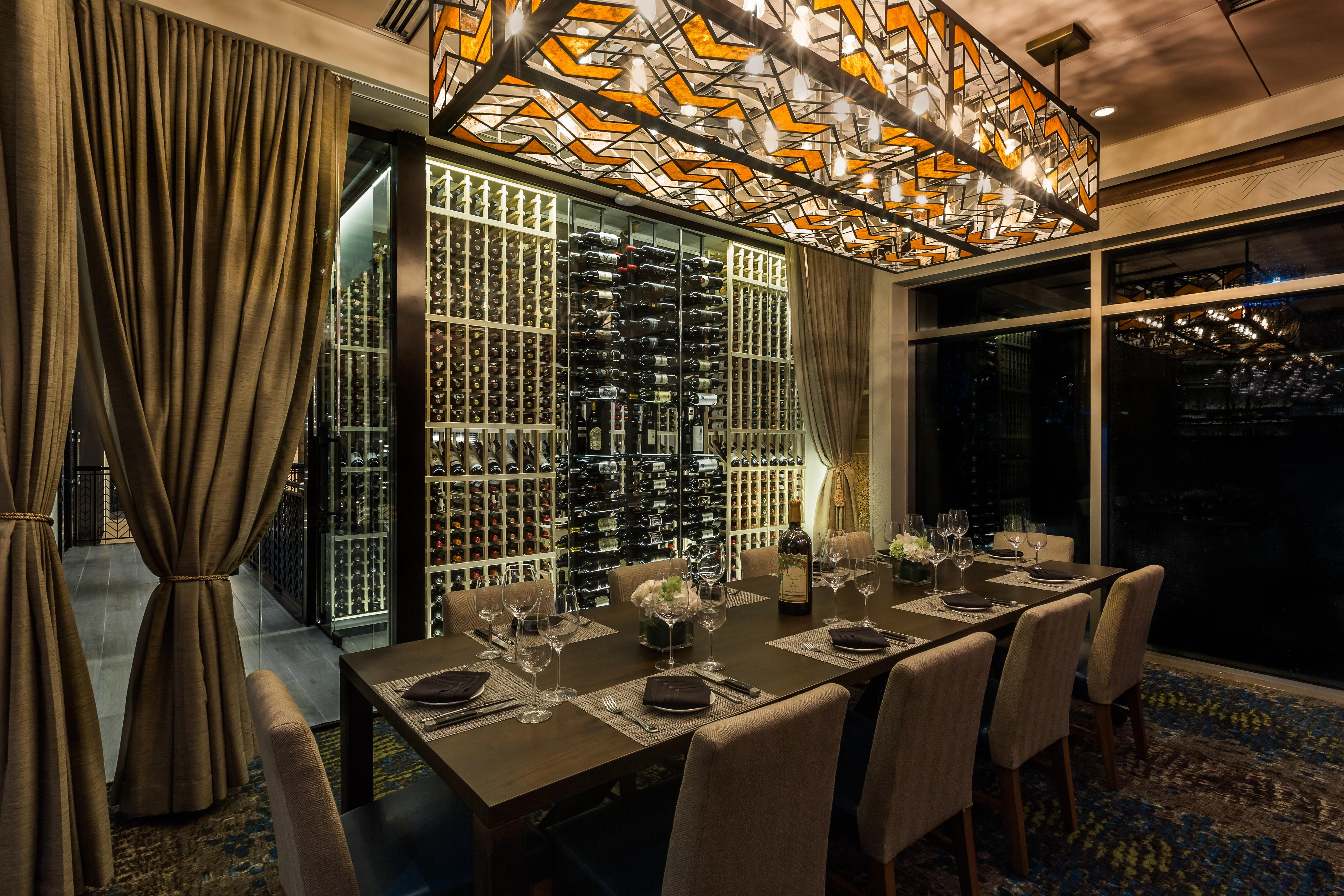Del Frisco's Double Eagle Steakhouse Orlando EAGLE'S NEST private dining room