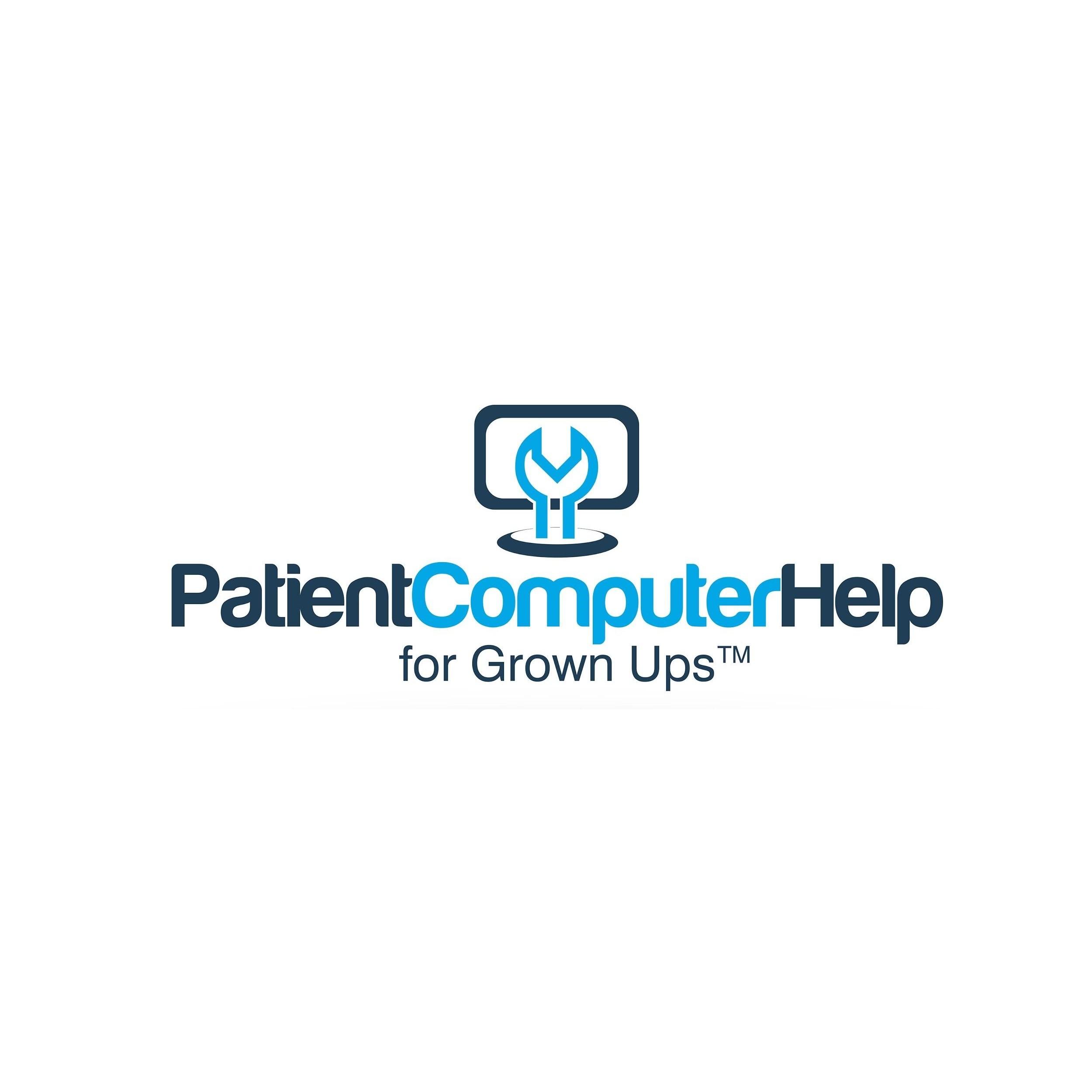 Patient Computer Help For Grown Ups