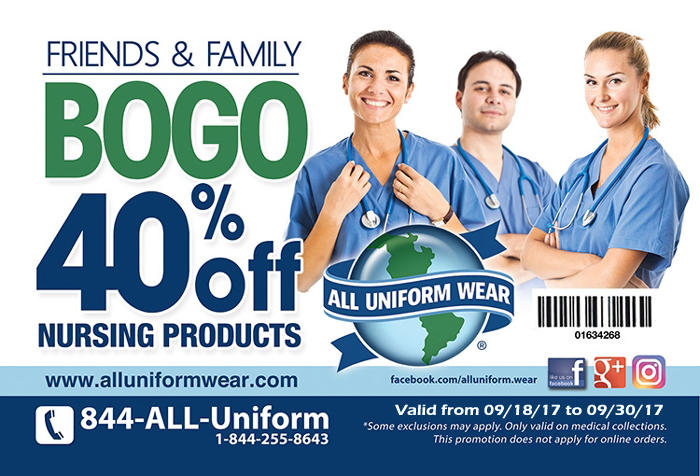 General Info 30 years of uniform expertise has made us the largest uniform retailer in Florida. We specialize in medical uniforms, work uniforms, school uniforms, company uniforms and restaurant uniforms - all available with on the spot custom embroidery at every location.