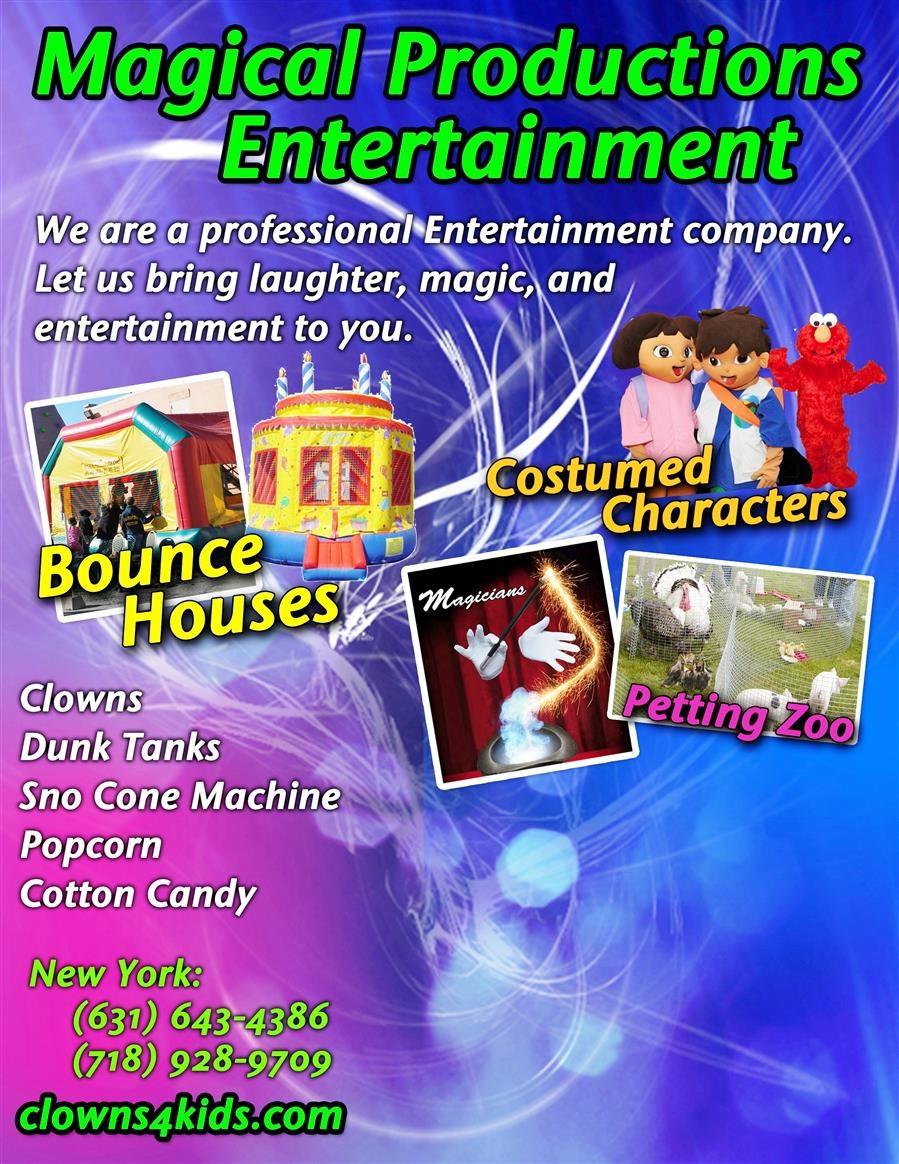 Magical Productions Entertainment Inc