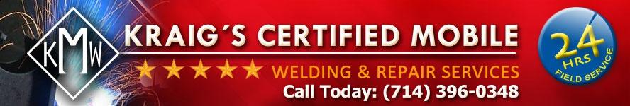 Kraigs Certified Mobile Welding & Repair Services