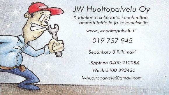 JW Huoltopalvelu Oy