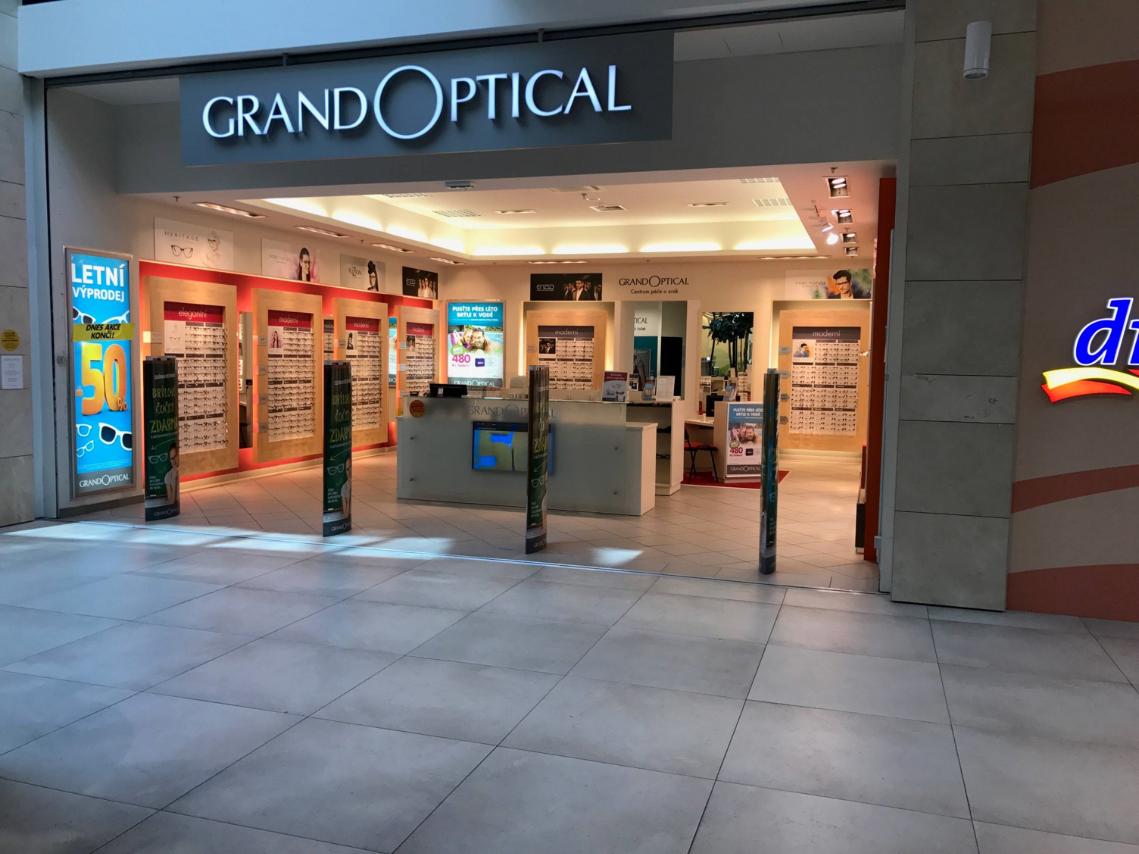 GrandOptical - oční optika Galerie Šantovka