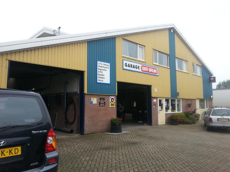 Garage en LPG Inbouw Ger Bruin