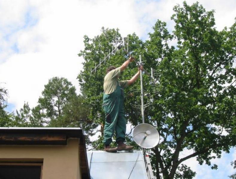 Antény, satelity - Josef VODIČKA