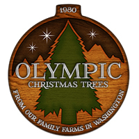 Olympic Christmas Trees