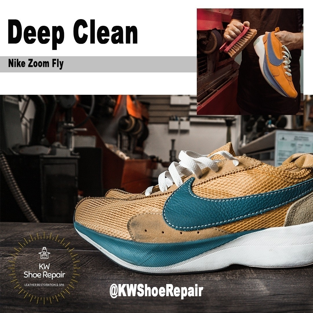 KW Shoe Repair & Sneaker Cleaning Service in Kitchener: KW's source for Sport Shoes & Sneaker Cleaning Service. We're open Monday to Saturday.  Give us a call!