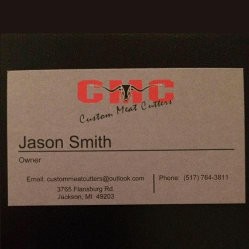 Custom Meat Cutters LLC - Jackson, MI - Meat Markets