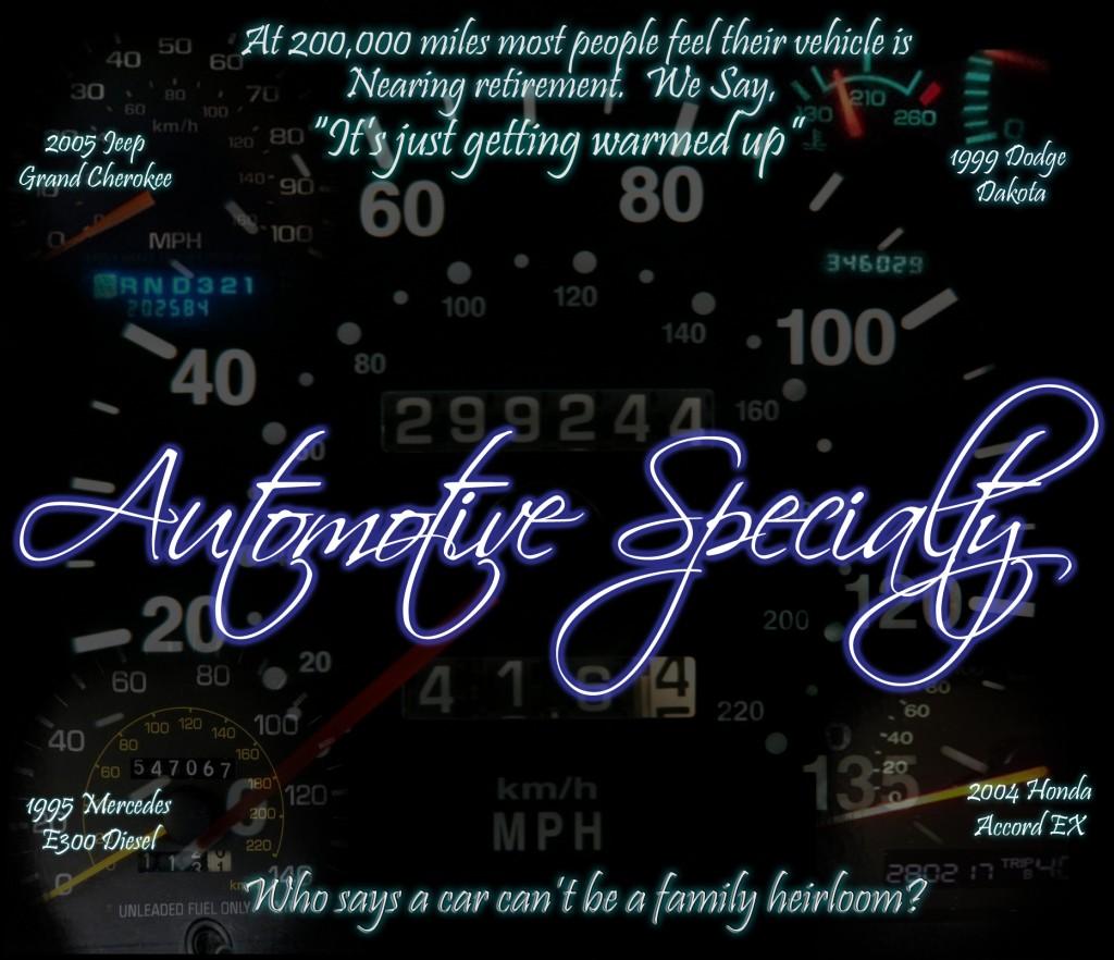 Automotive Specialty Llc Richmond Virginia Va
