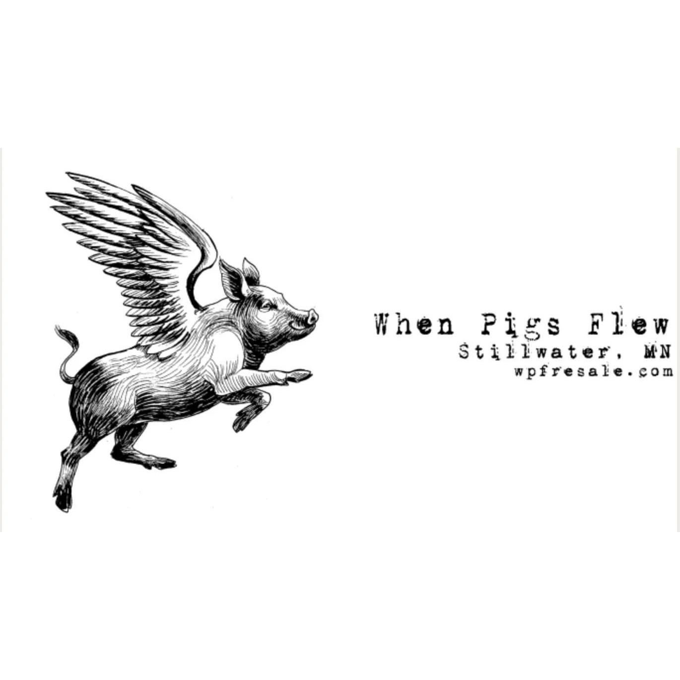 When Pigs Flew - Resale and New