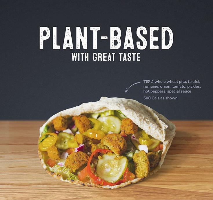 Pita Pit in Orillia: Thinking about eating plant-based? Pita Pit makes it easy with lots of plant based protein and fresh vegetables to choose from!  ⠀ ⠀ Check out our plant-based guide online at https://pitapit.ca/plantbased