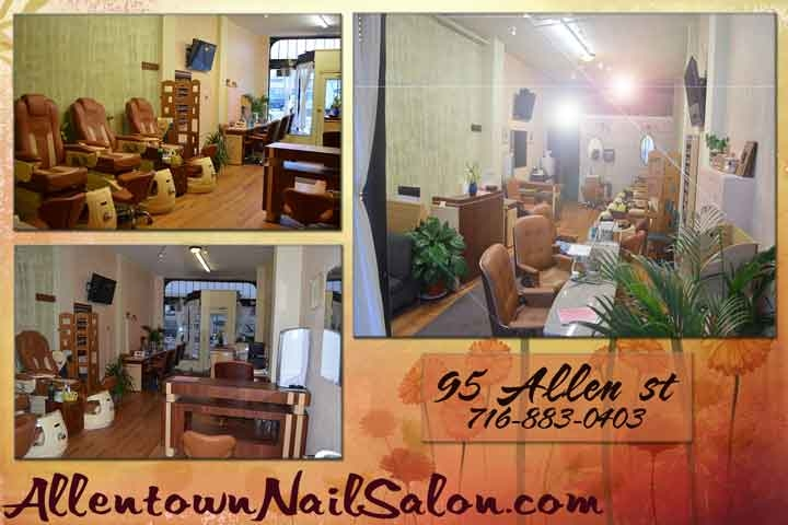 Allentown nail salon buffalo new york for Salon emmaus