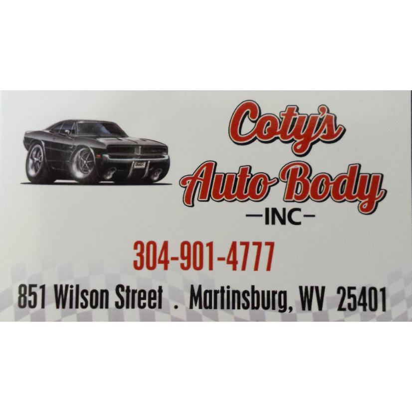 Coty's Auto Body Inc