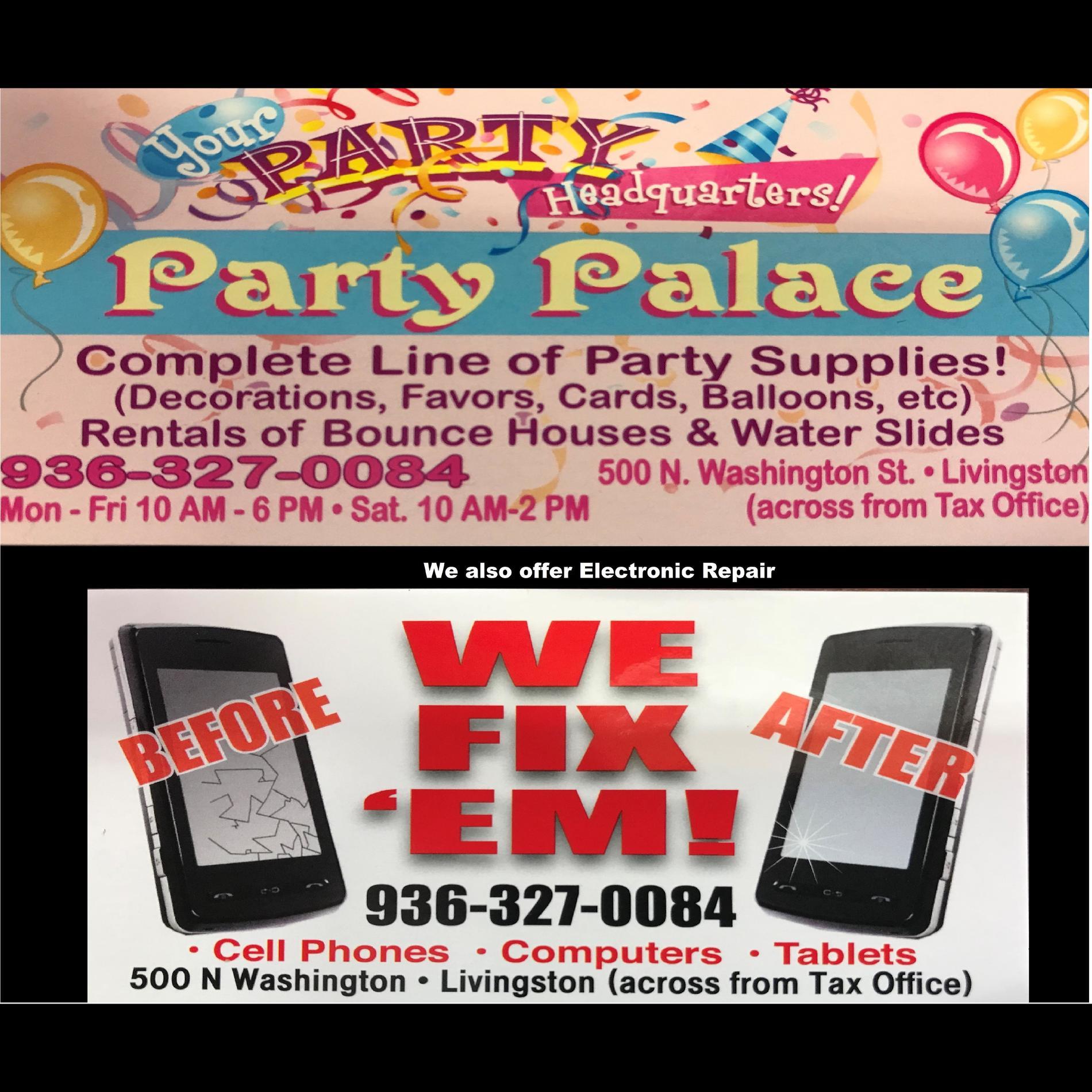 Party Palace LLC