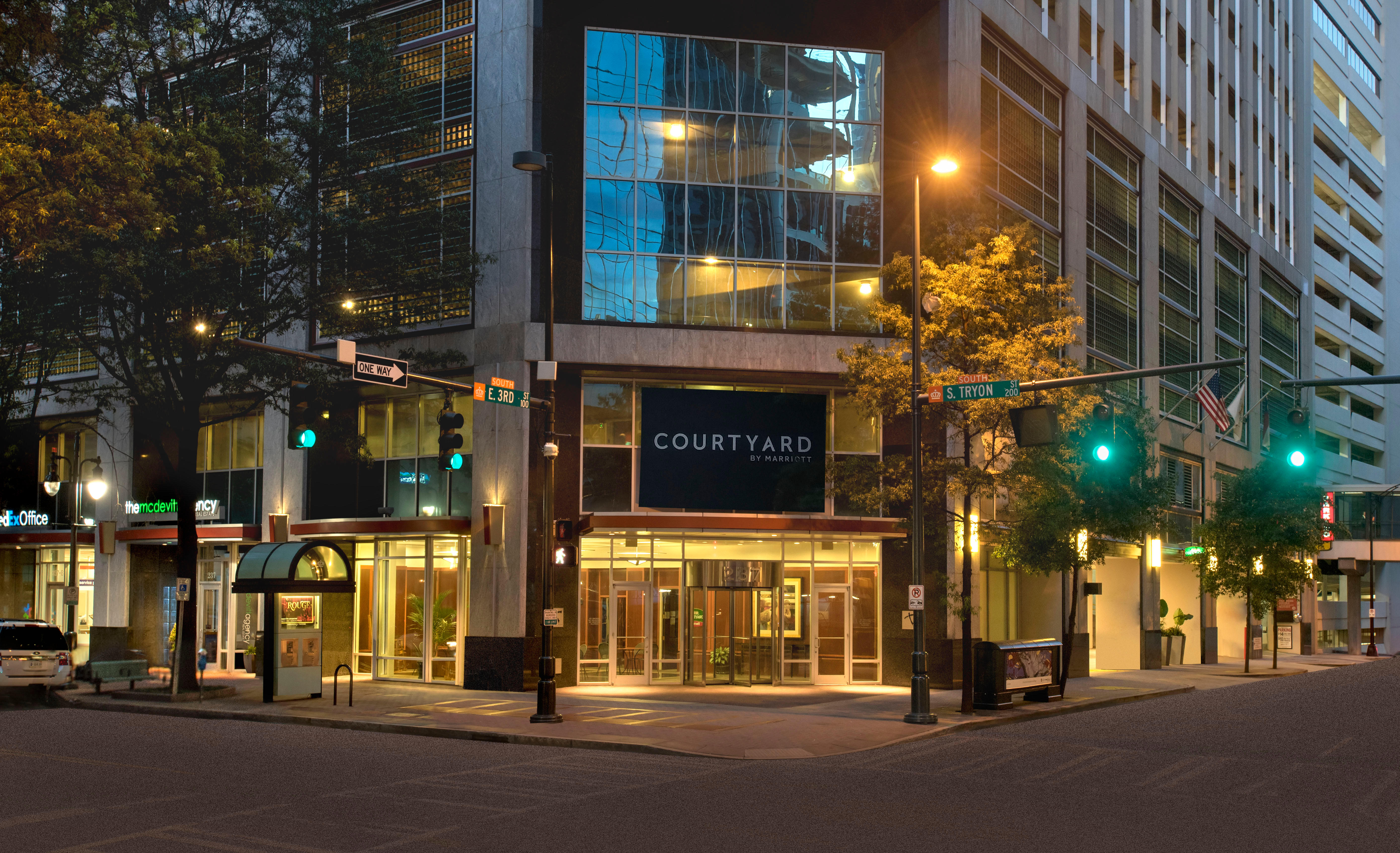 Hotels Near  South Tryon Street Charlotte Nc