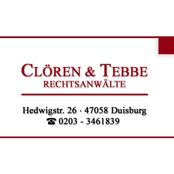 Bild zu Clören & Tebbe in Duisburg