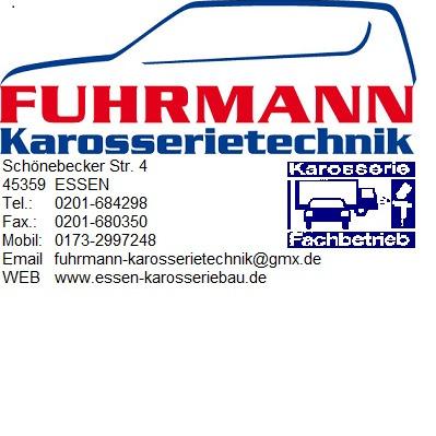 Bild zu Fuhrmann Karosserietechnik Inh. Frank Fuhrmann in Essen