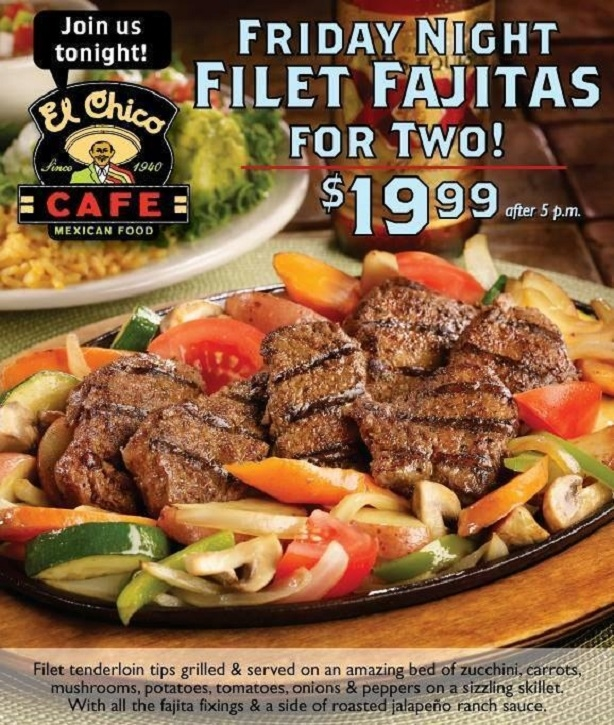 El Chico Mexican Restaurant Coupons
