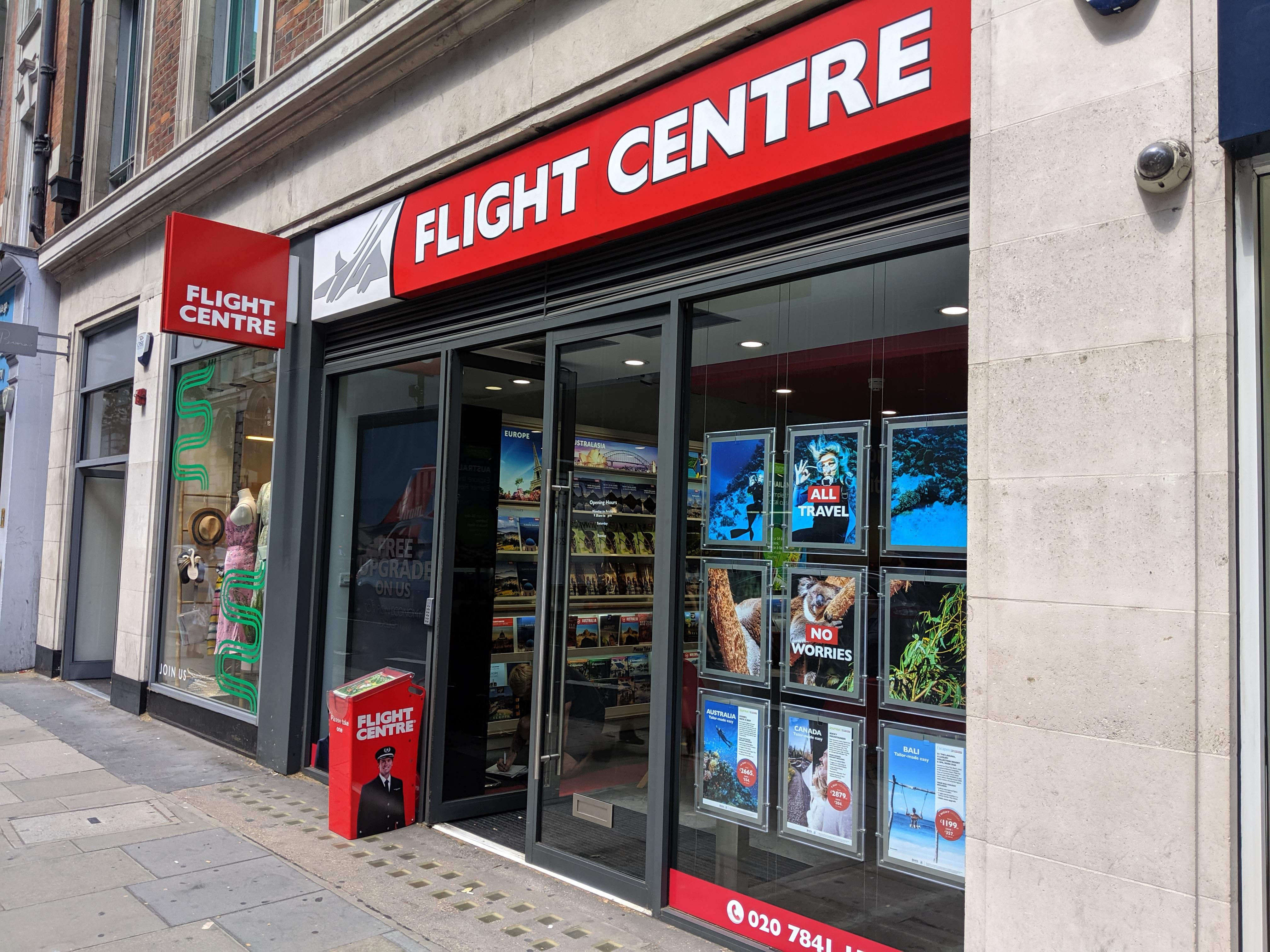Flight Centre Holborn