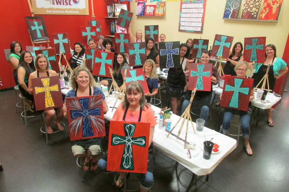 Painting with a twist in san antonio tx 78250 for Wine and paint san antonio