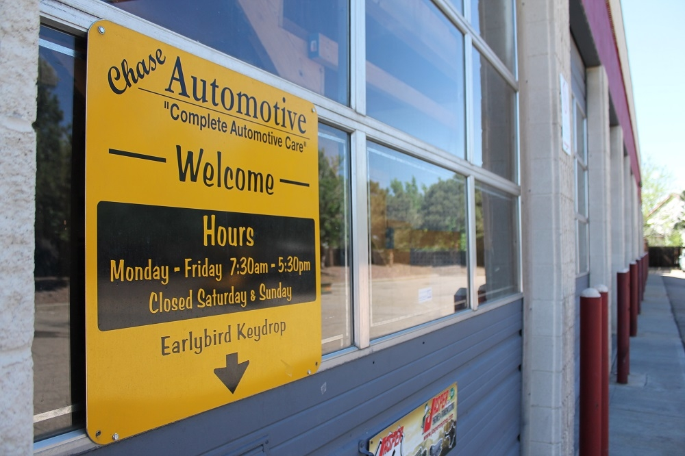 Chase Automotive Repair in Aurora, CO 80011 - ChamberofCommerce.com