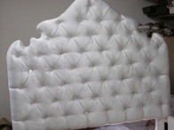 tuffted headboard