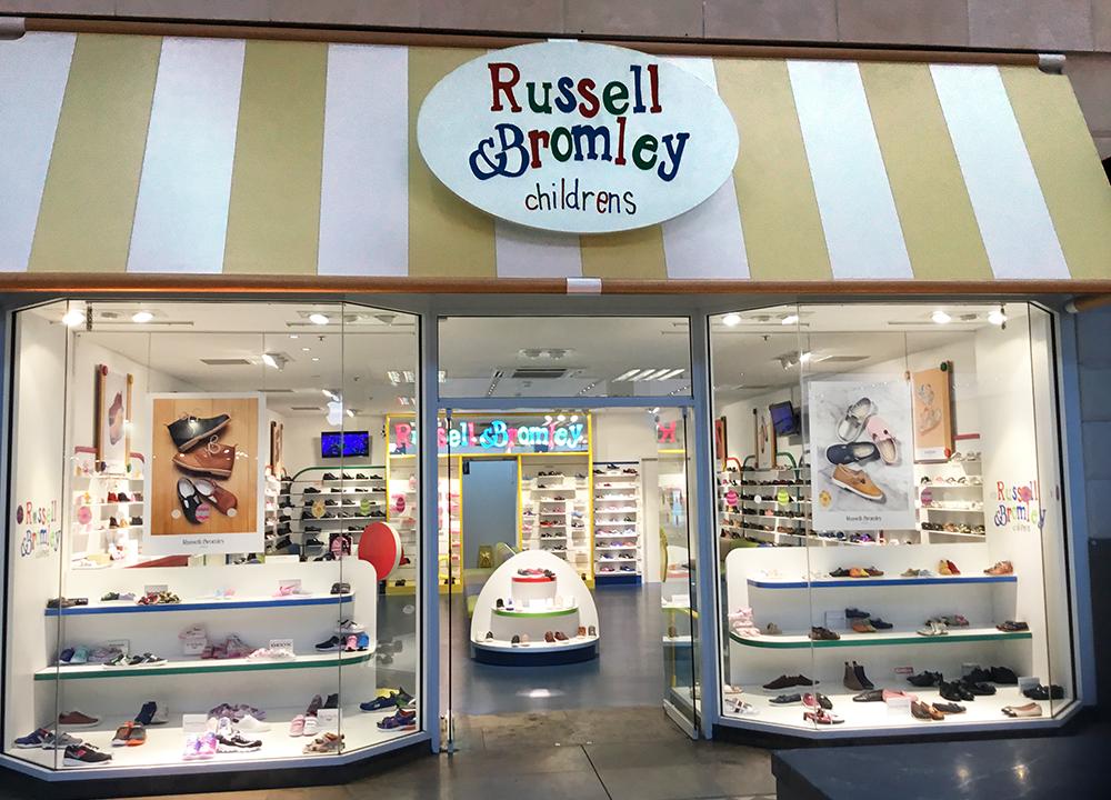Russell & Bromley Ltd. Children's Shop