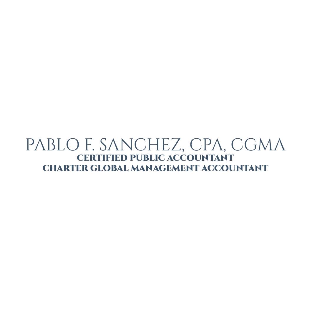 Pablo F. Sanchez, CPA, CGMA