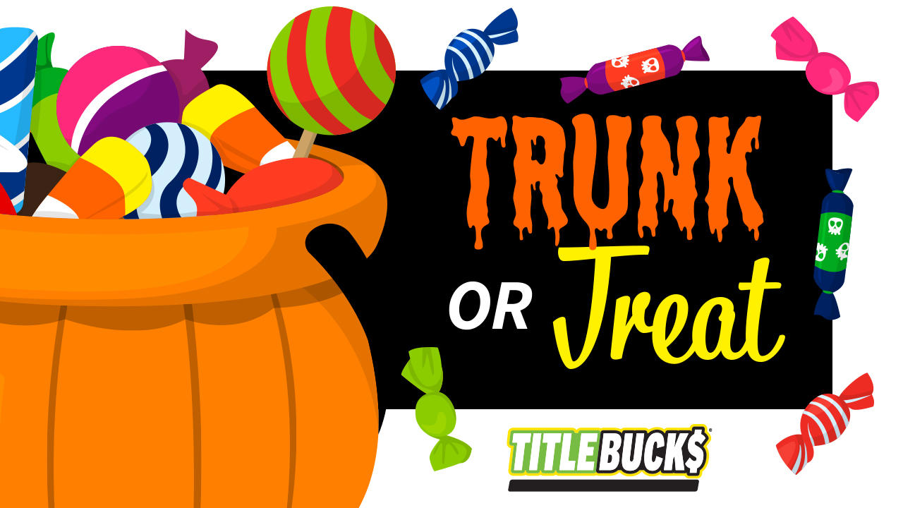 Trunk or Treat at TitleBucks Gaffney, SC