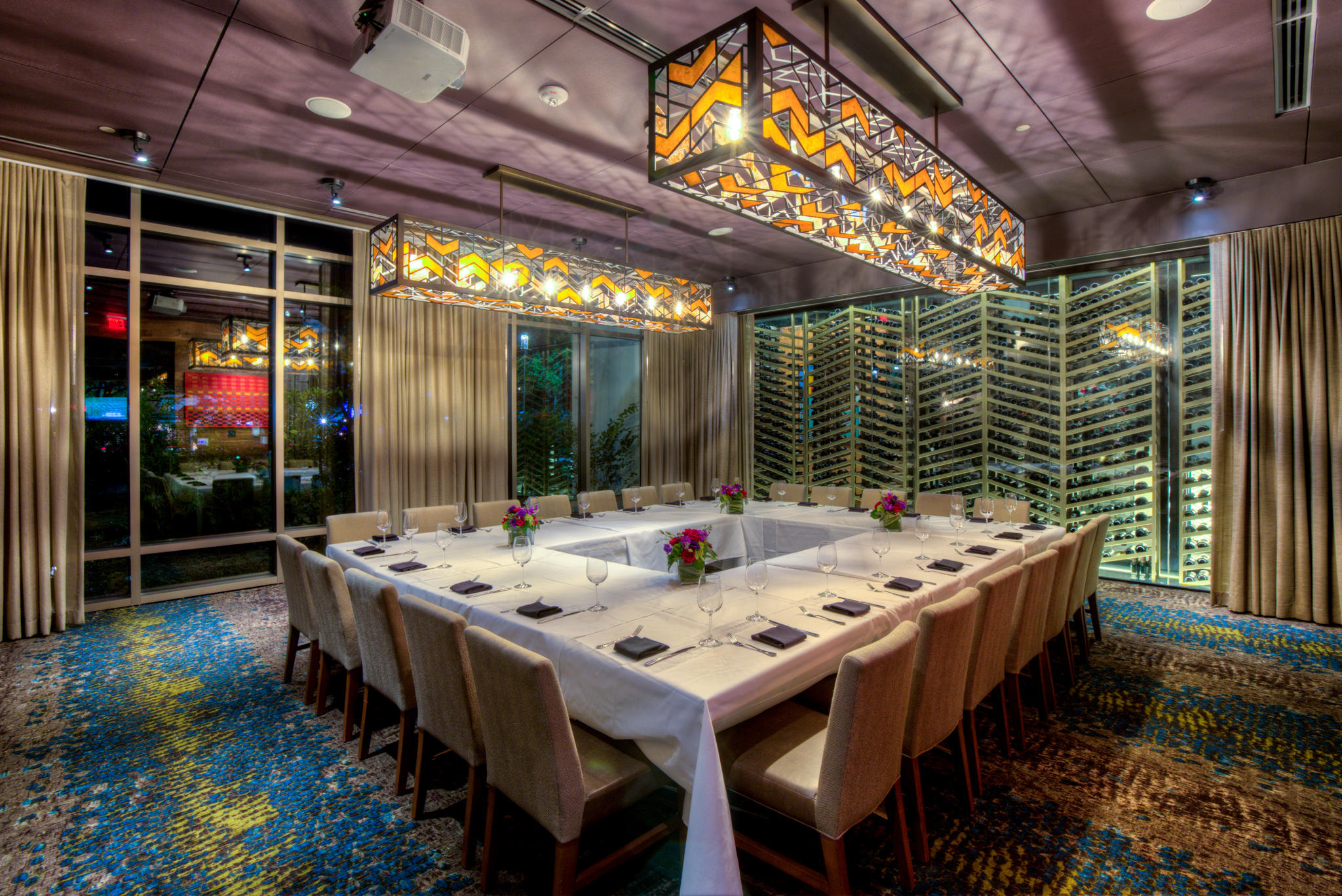 Del Frisco's Double Eagle Steakhouse Orlando BARREL ROOM (HALF CELLAR) private dining room