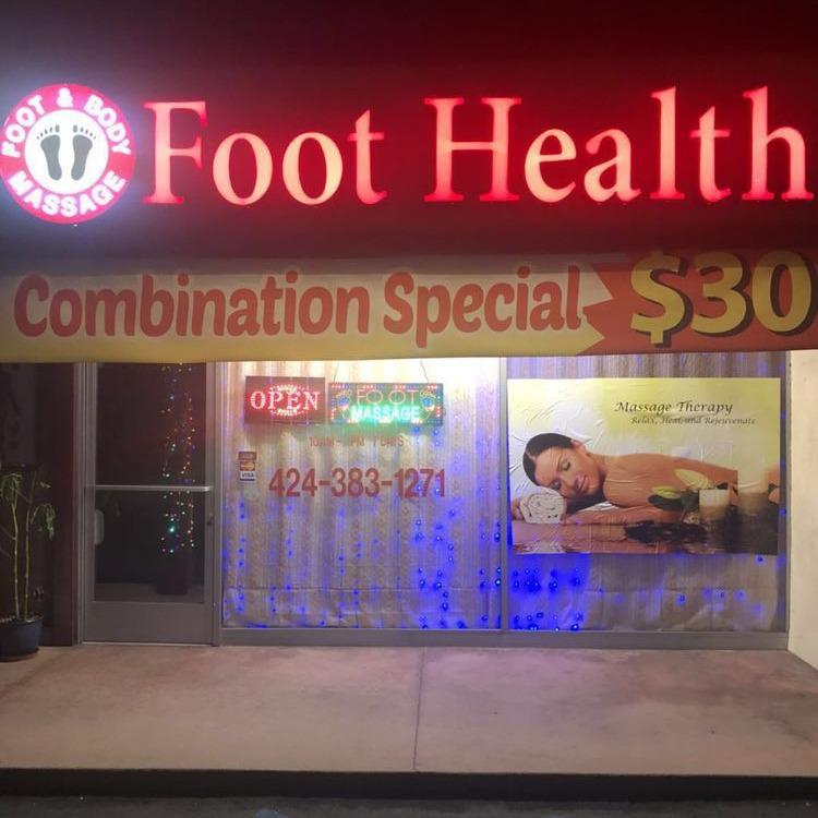 Blue sky foot health massage