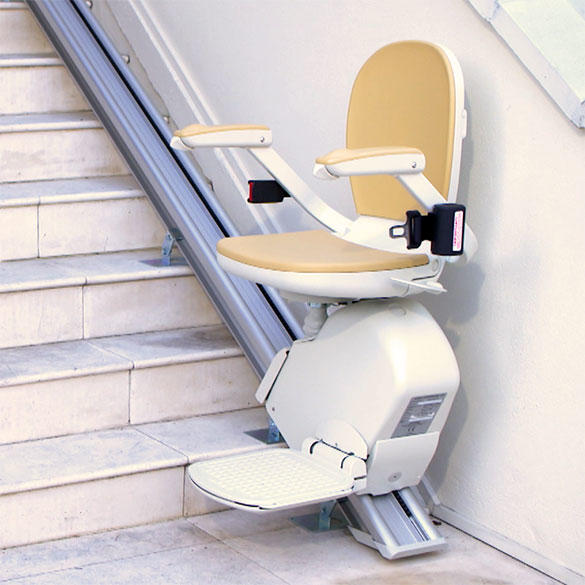 Phoenix AZ New and Used Stair Lifts.  Buy, sell & rent seat lift stairchairs.  Best selection of indoor residential home stairlifts and outside exterior outdoor stairway staircase straight and curved ail Bruno stair lift.