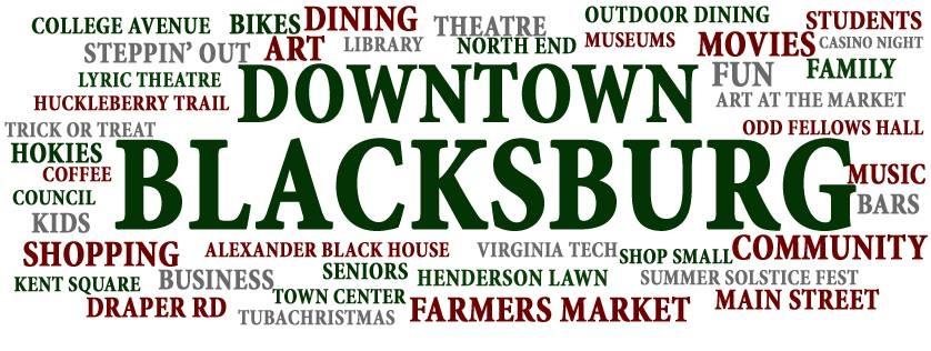 Downtown Blacksburg Inc In Blacksburg Va 24060