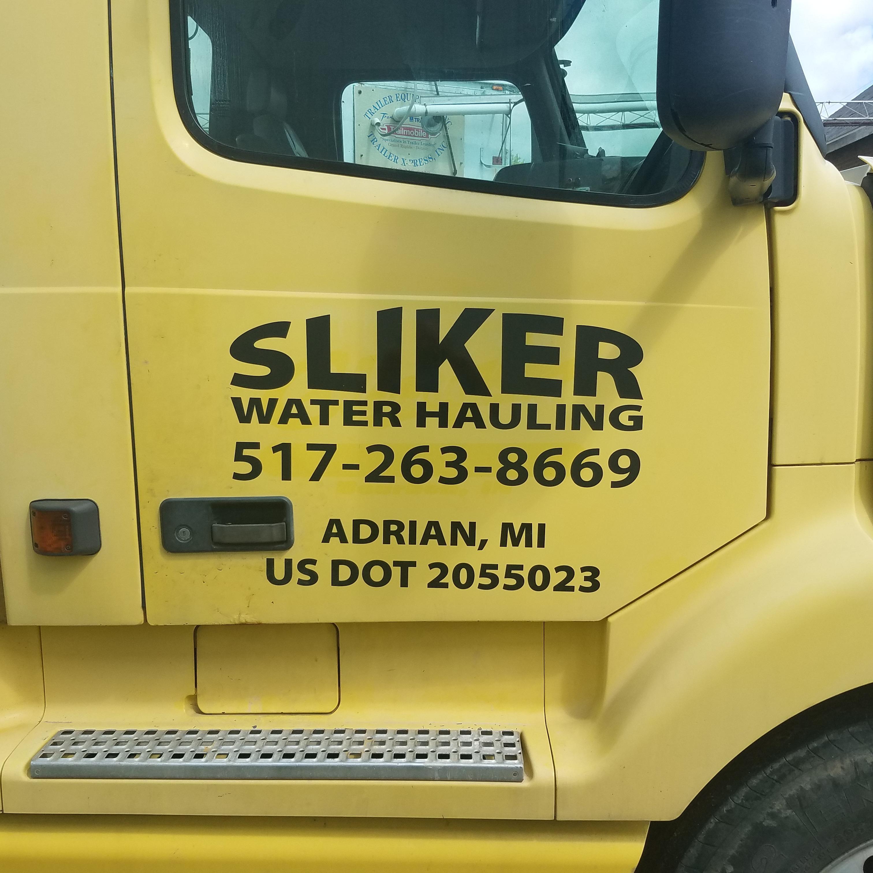 Sliker Water Hauling