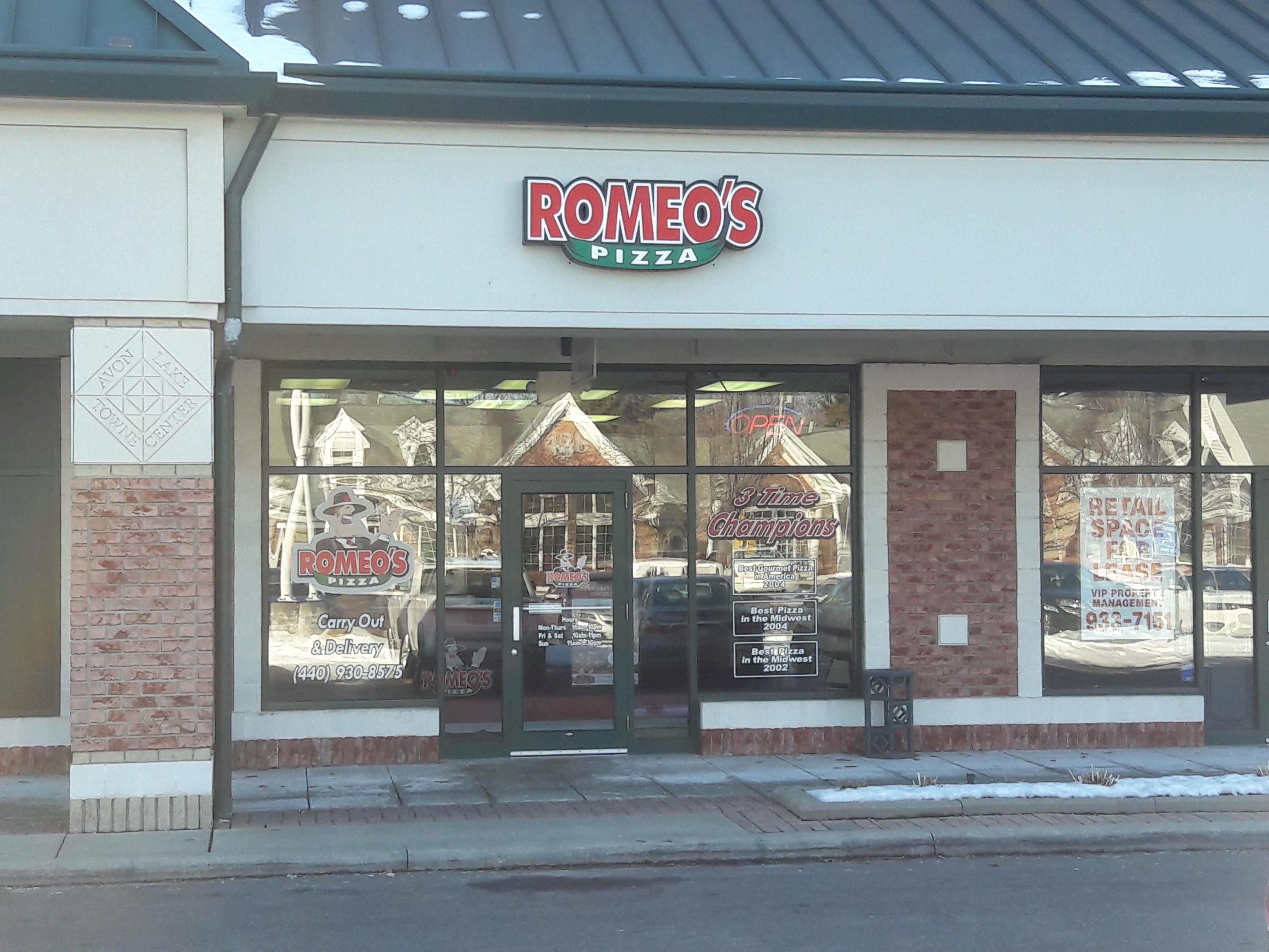 Romeo's pizza coupon code