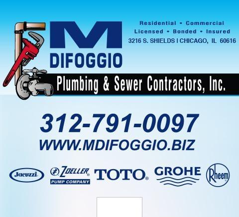 M. DiFoggio Plumbing & Sewer Contractors Inc.