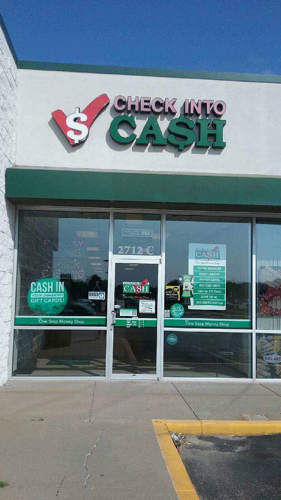 Check Into Cash hours and Check Into Cash locations along with phone number and map with driving directions/5(12).
