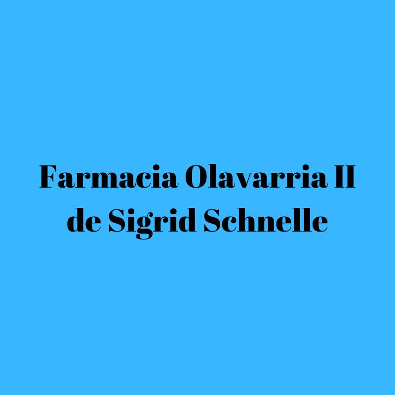 FARMACIA OLAVARRIA II DE SIGRID SCHNELLE