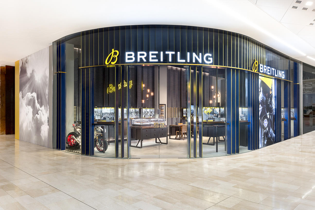 BREITLING BOUTIQUE LONDON WHITE CITY