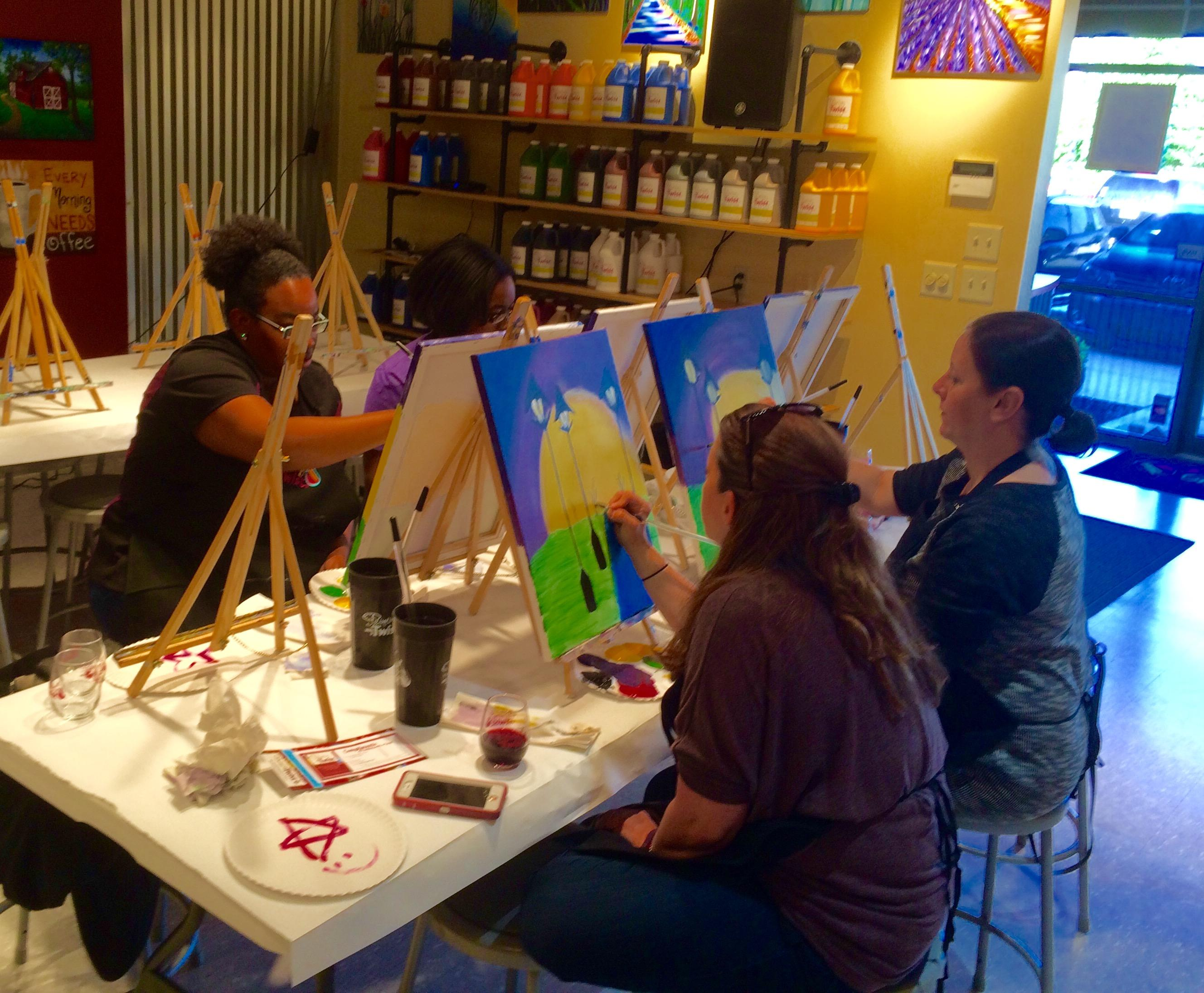 Painting with a twist in fishers in 46038 for Painting with a twist san diego