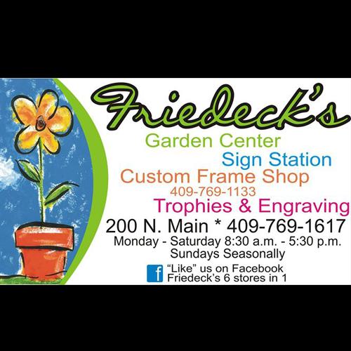 Friedeck's Garden Center - Vidor, TX - Garden Centers