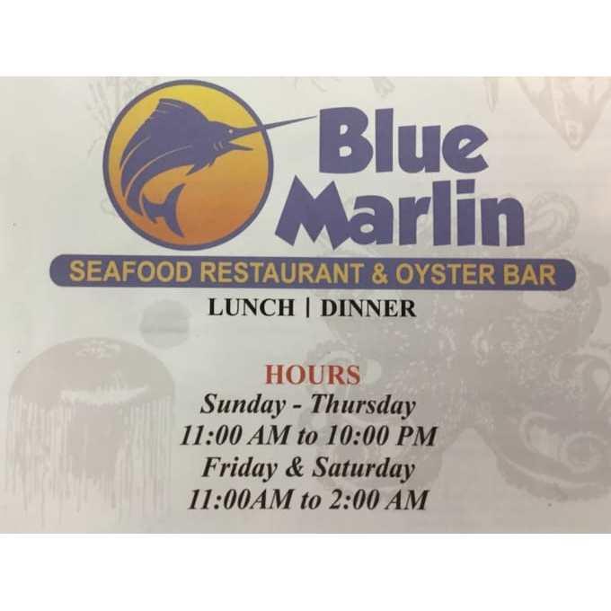 Blue Marlin Seafood Restaurant & Oyster Bar - Oviedo, FL 32765 - (407)960-2062   ShowMeLocal.com