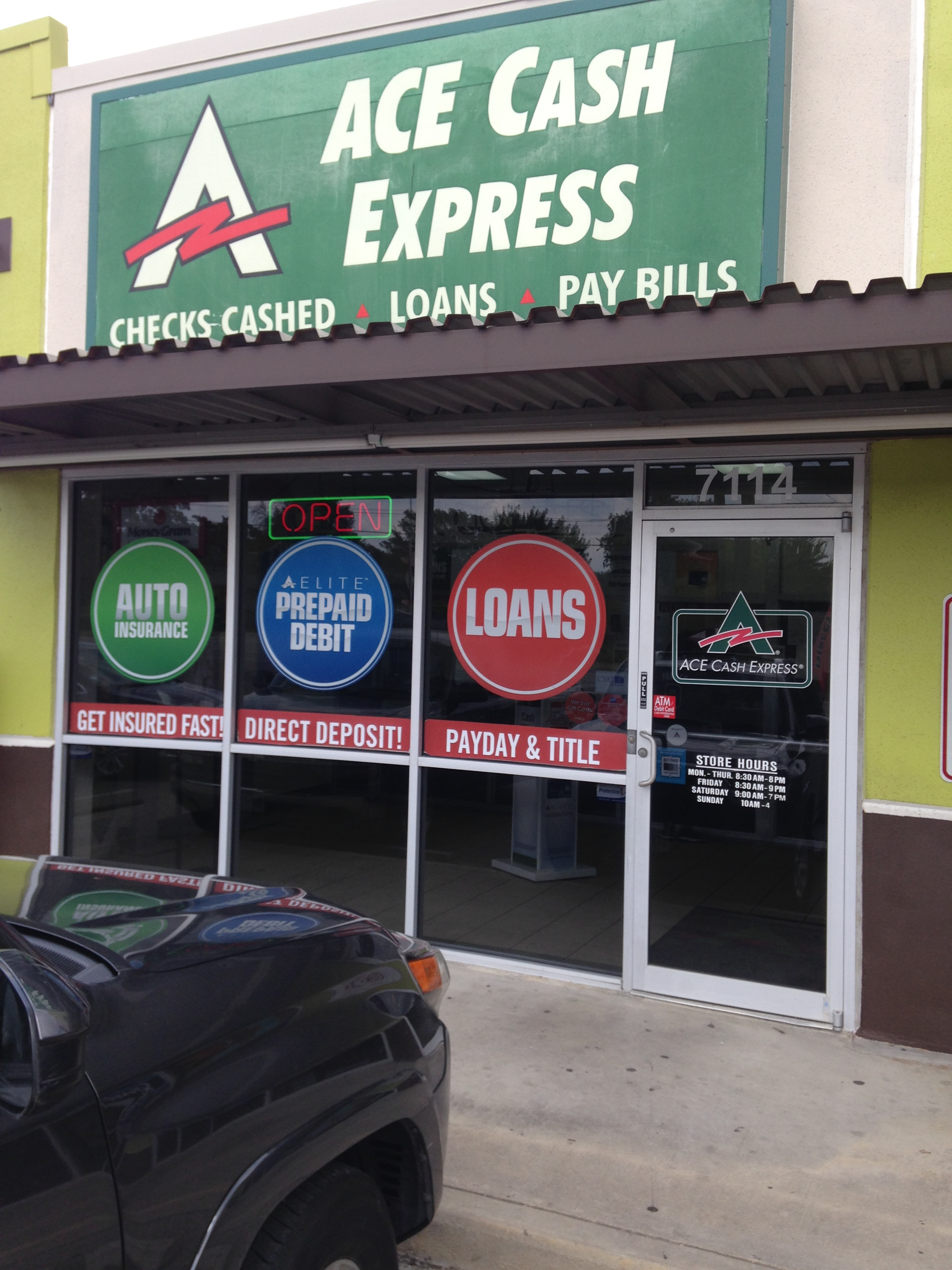 Search For Ace Cash Express