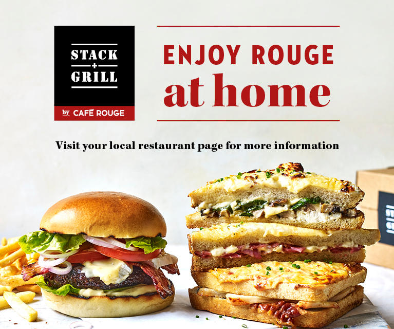 Enjoy Rouge at home Cafe Rouge - Bournemouth Bournemouth 01202 757472