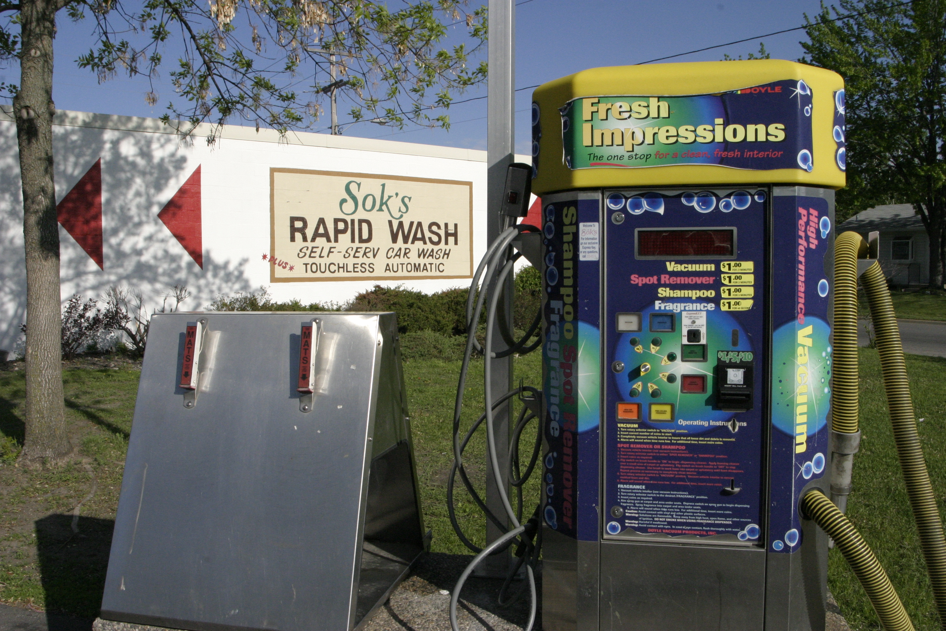 Sok S Rapid Car Wash St Cloud Mn